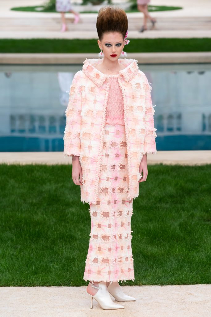 Chanel couture показ