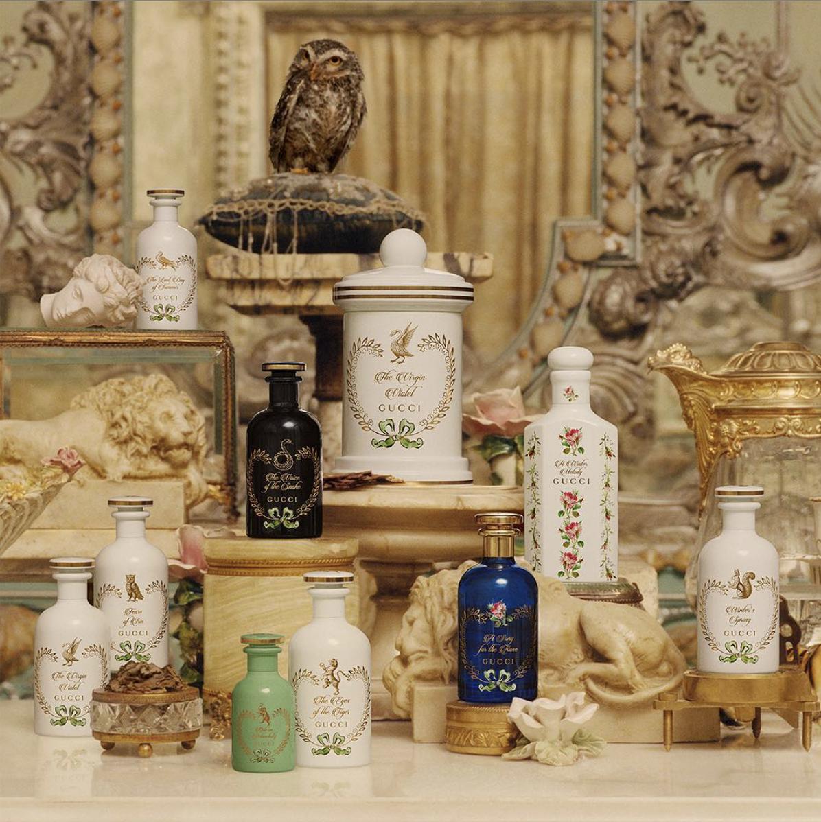 «Сад алхимика», парфюмерия