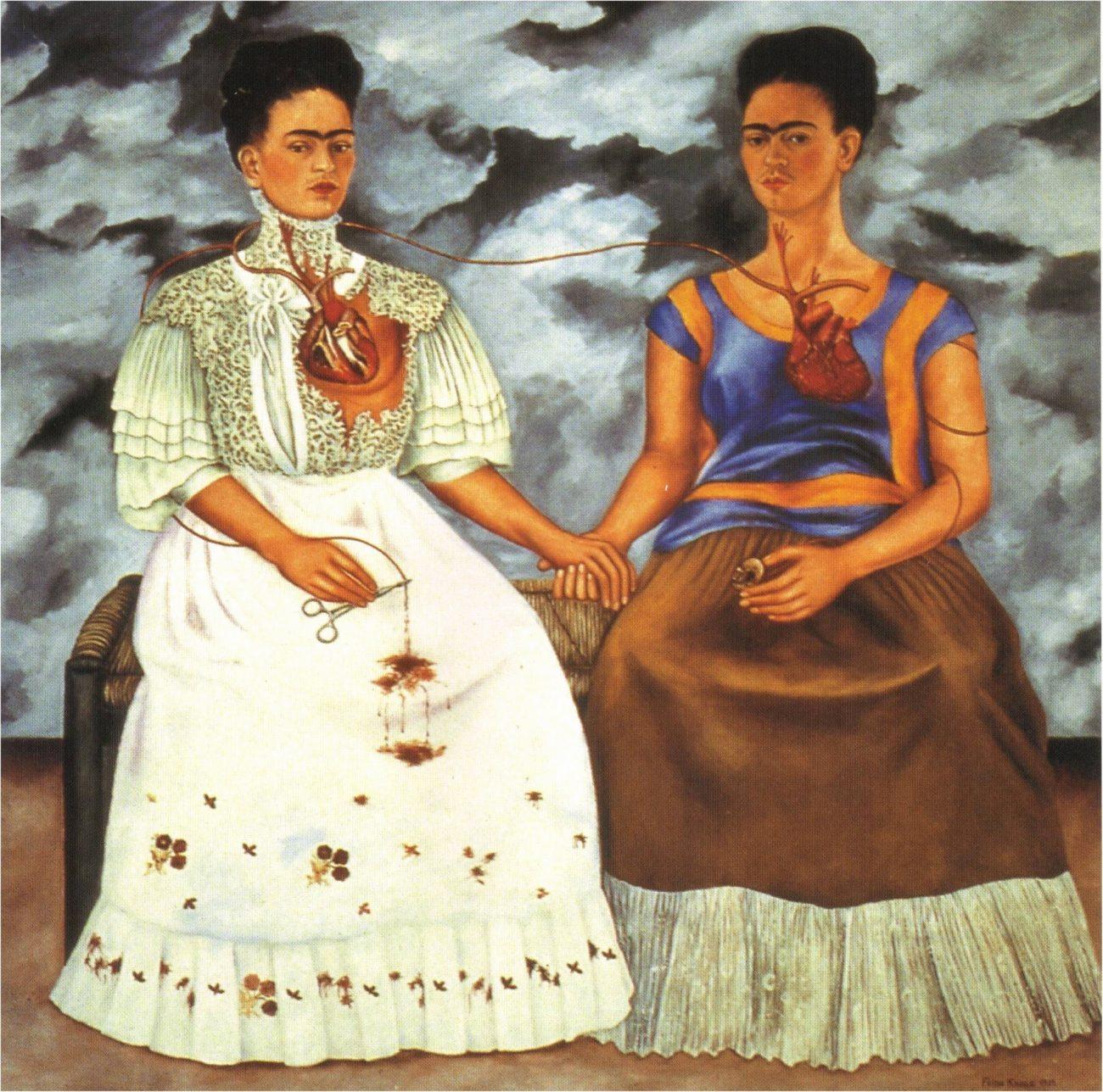 «Две Фриды» Фрида Кало, 1939