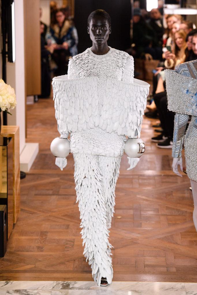 оливье рустен для balmain couture