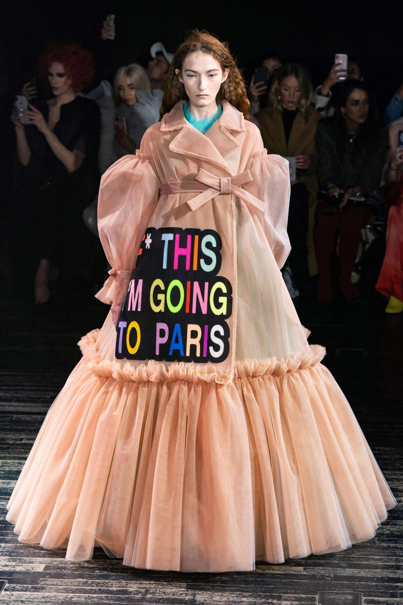 платья viktor & rolf