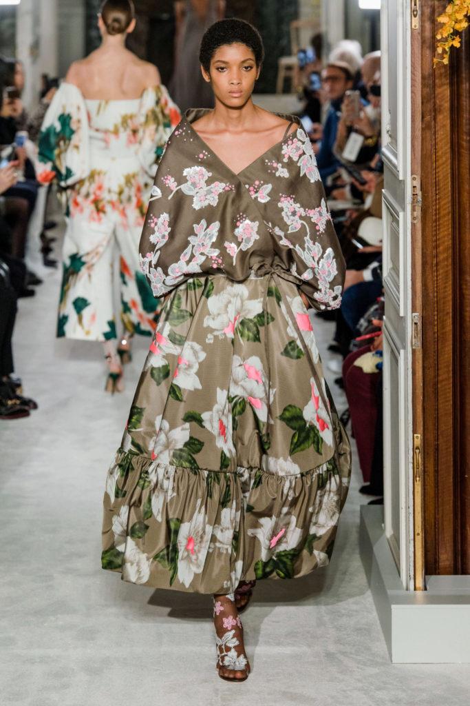 цветочный принт Valentino Couture