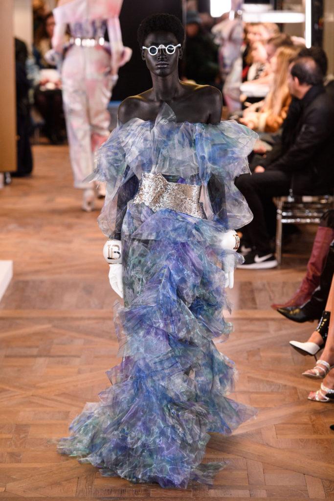 платье balmain couture