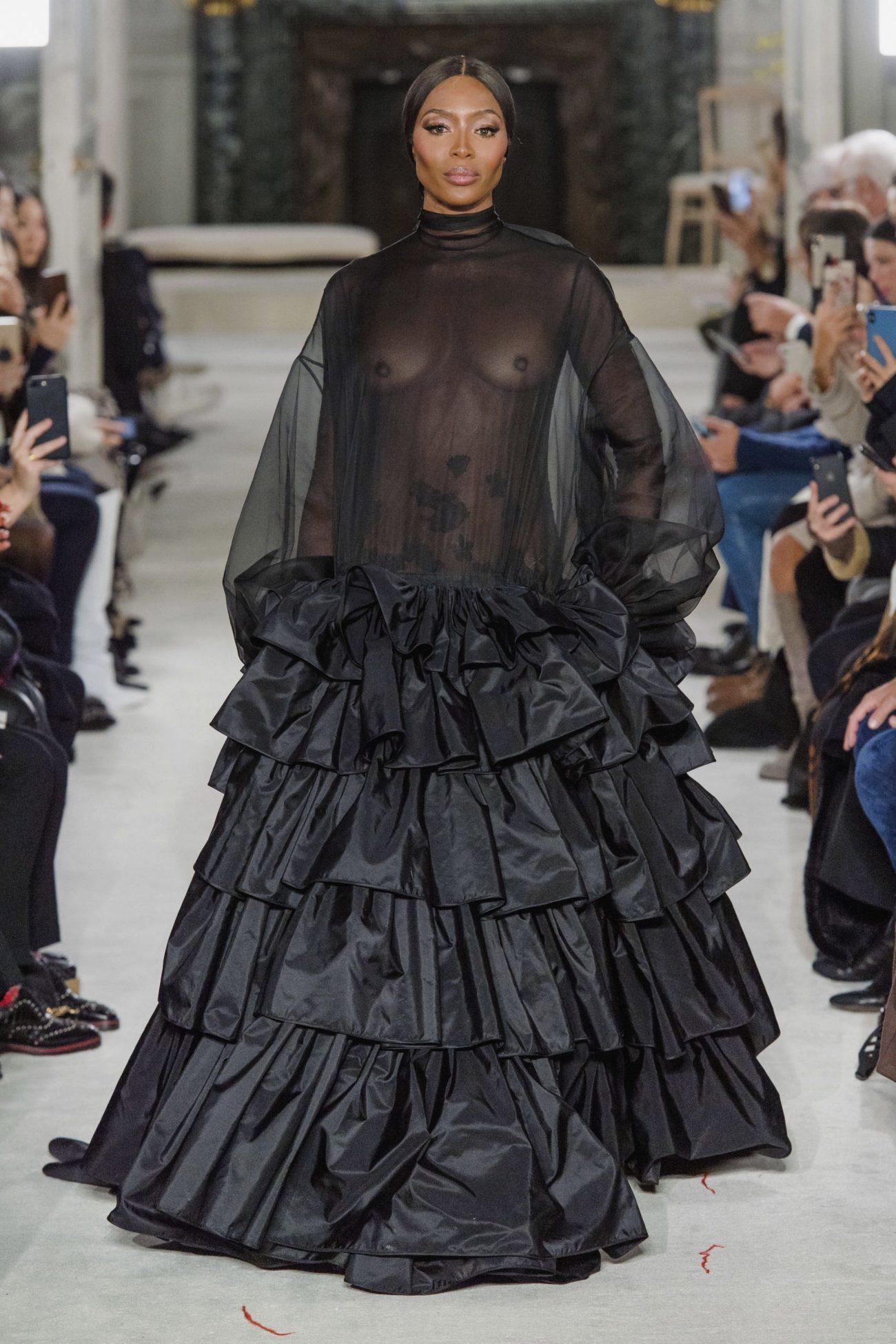 Наоми Кэмпбелл, новая коллекция Valentino Couture