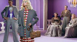 Showtime: рекламная кампания весенней коллекции Gucci