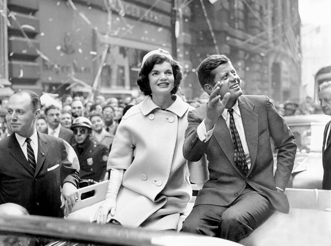 президент кеннеди с женой