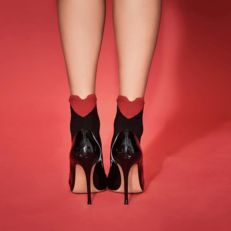 Calzedonia Короткие носки с сердечком