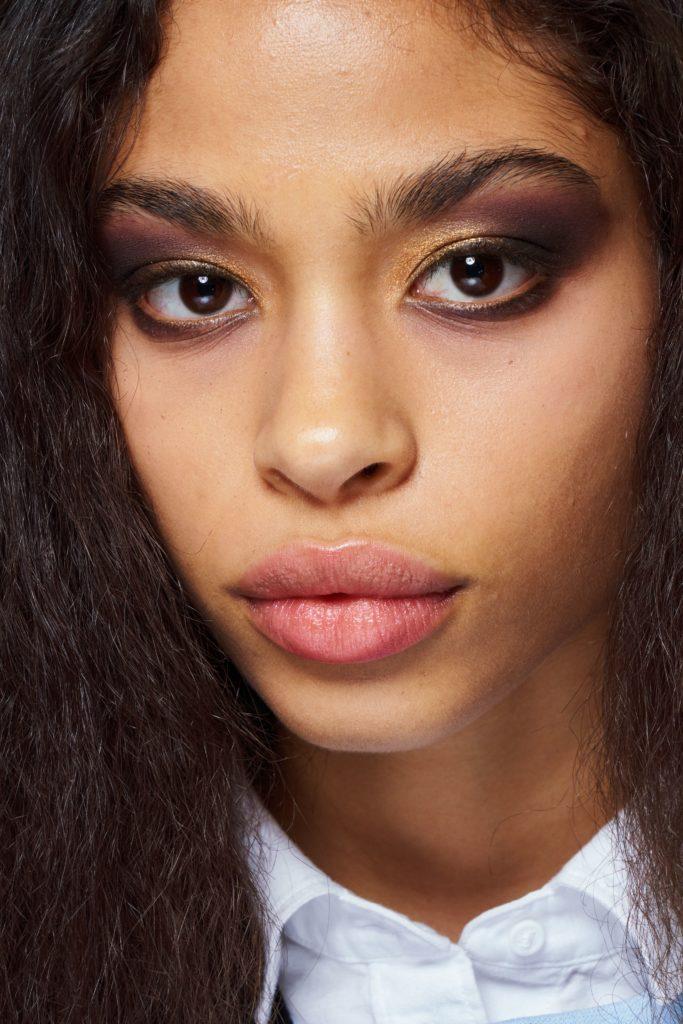 макияж на показе Michael Kors 2019