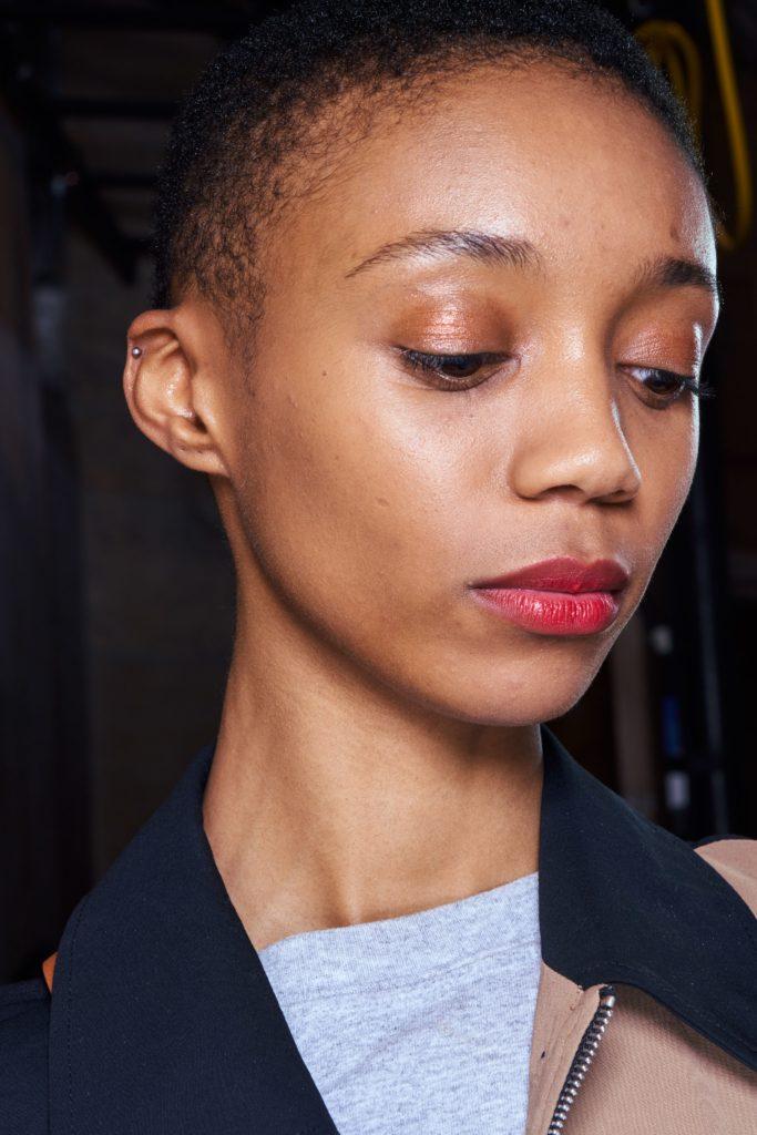 макияж с показа Oscar de la Renta
