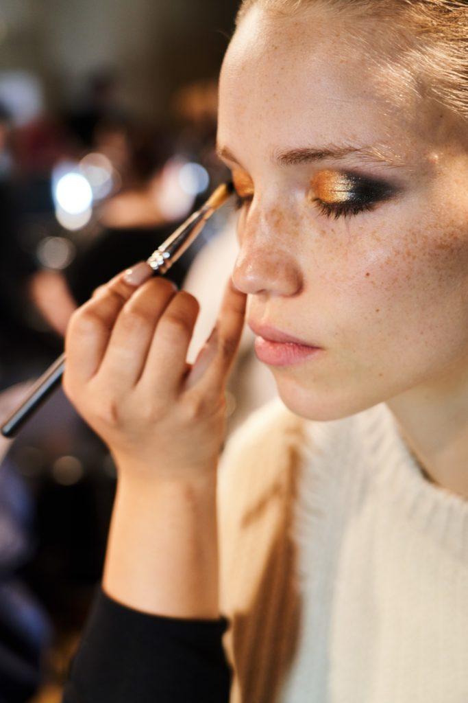 макияж на показе Michael Kors