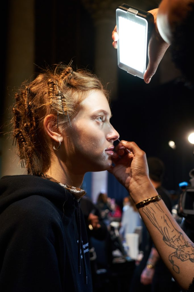 макияж с показа Michael Kors
