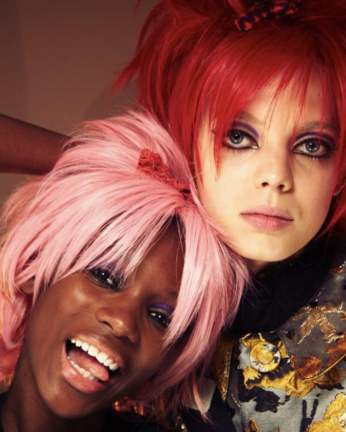 Сумасшедший и ни на что не похожий: макияж с показа Анны Суи