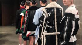 Гвидо Палау и его необычные узоры из волос для показа Burberry Fall 2019