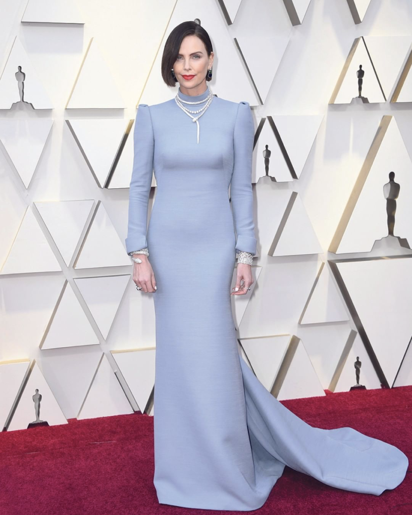 Шарлиз Терон на премии Оскар 2019