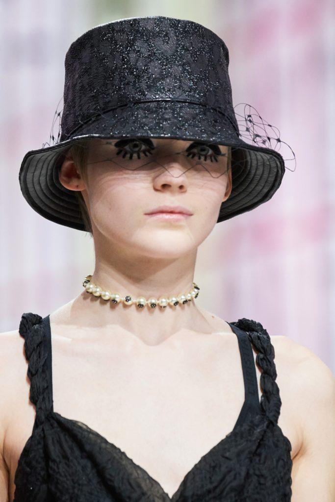 макияж с показа Dior Fall 2019