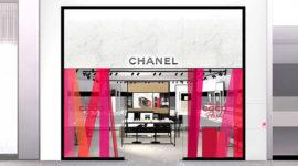 Chanel открыл первый парфюмерно-косметический бутик в Санкт-Петербурге