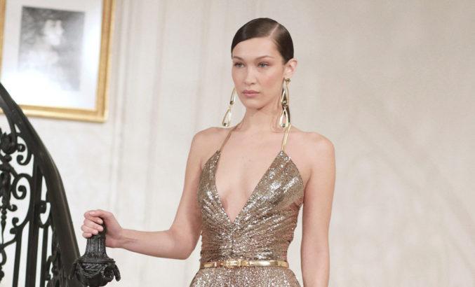 Укладка с косым пробором — главный тренд нью-йоркской Недели моды