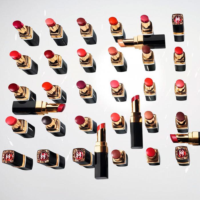новая коллекция помад от Chanel
