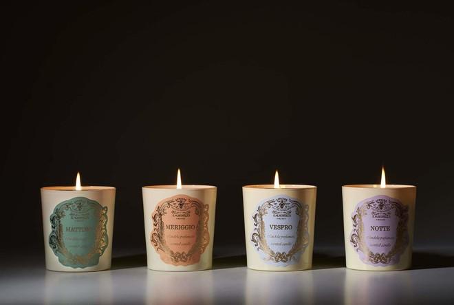 Новые свечи для утра, дня, вечера и ночи от Santa Maria Novella