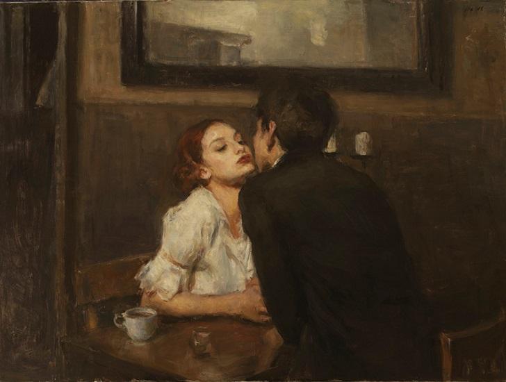 любовь в картинах