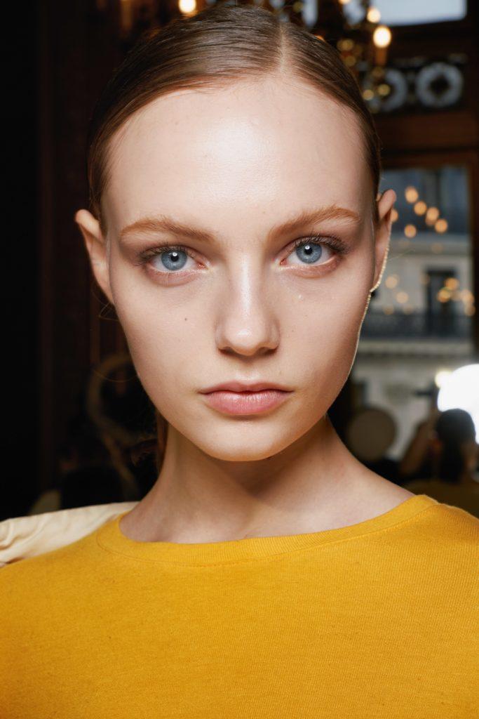 макияж с показа Stella McCartney Fall 2019