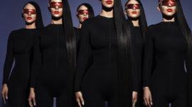 Как у Ким: рекламная кампания очков Carolina Lemke