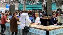 Парфюмерный супермаркет «Золотое Яблоко» откроется в ТРЦ «Метрополис» в Москве