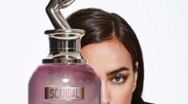 Ирина Шейк в рекламе нового аромата Jean Paul Gautier