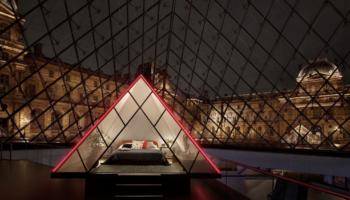 Airbnb, Лувр, конкурс