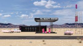 YSL Beauty откроет поп-ап-пространство в виде автозаправки