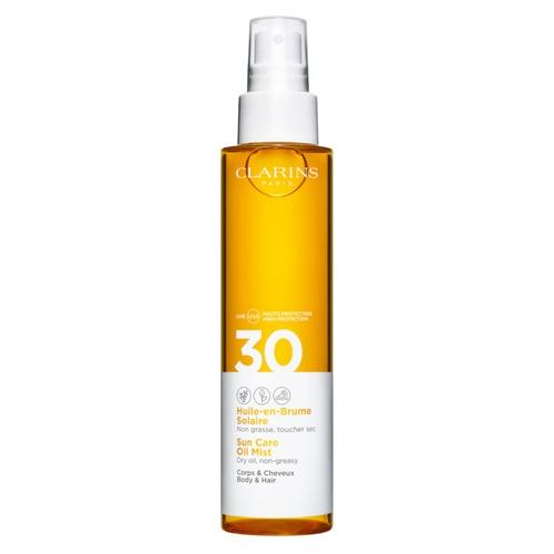 CLARINS, Солнцезащитное масло-спрей