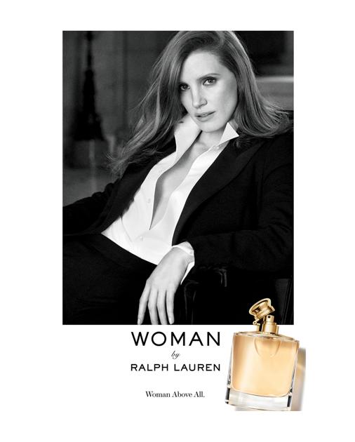 Джессика Честейн снова появилась в рекламной кампании аромата Ralph Lauren