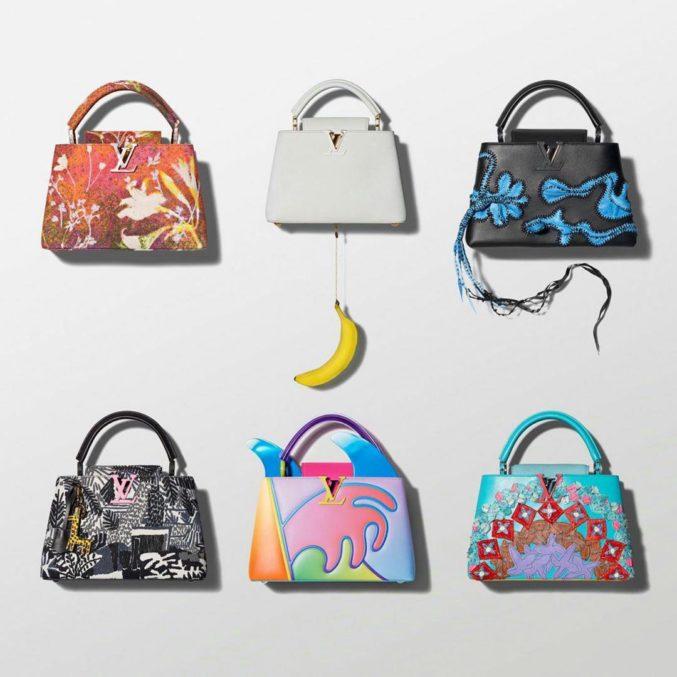 Louis Vuitton представил коллекцию сумок от современных художников
