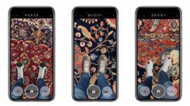 Кеды Gucci: примерить и влюбиться в дополненной реальности