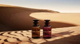 Louis Vuitton представил новый удовый аромат Les Sables Roses