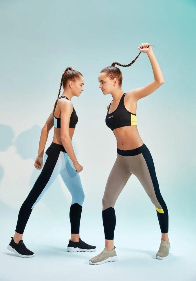 Дина и Арина Аверины представили новую фитнес-коллекцию ZASPORT