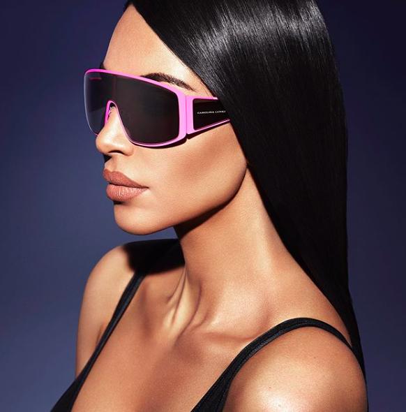 Ким Кардашьян и Carolina Lemke представили новые модели очков: причем тут Emilio Pucci?