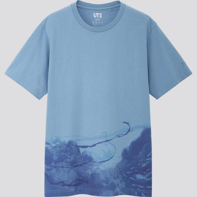 Коллекция футболок UNIQLO UT с героями аниме режиссера Макото Синкай