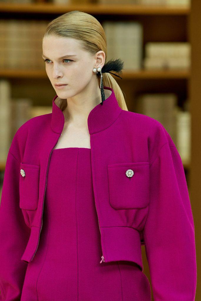 розовая куртка Шанель