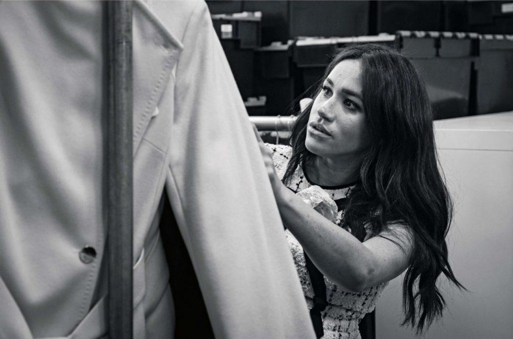 Меган Маркл, приглашенный редактор, Vogue