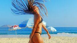 Прически для пляжа и бассейна
