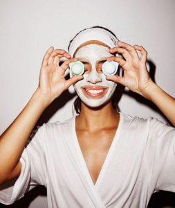 маска для лица, косметология