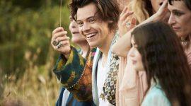 Гарри Стайлс снялся в рекламной кампании для нового аромата Gucci