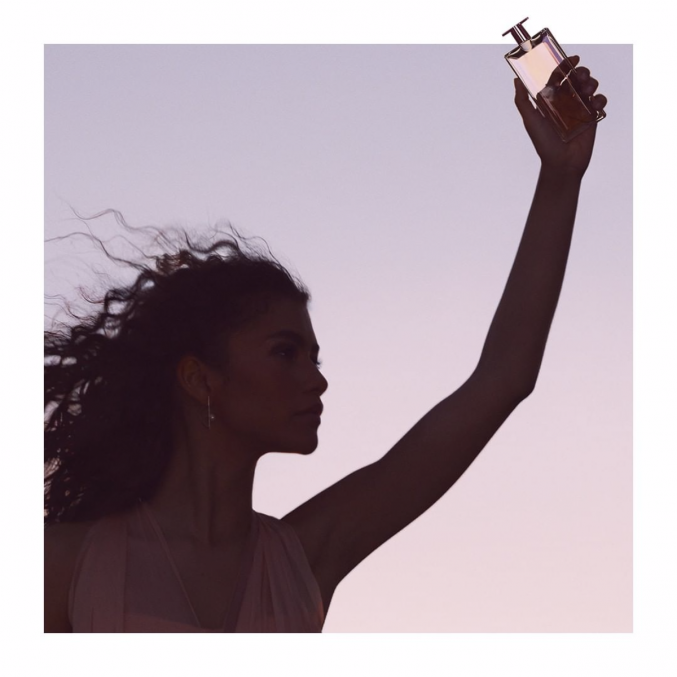 Зендая снялась в рекламной кампании нового аромата Lancôme