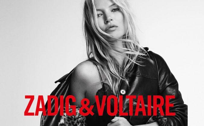 Кейт Мосс создаст линейку сумок для Zadig & Voltaire