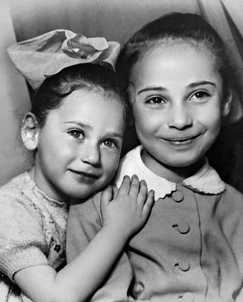Алла Вербер со старшей сестрой Ириной