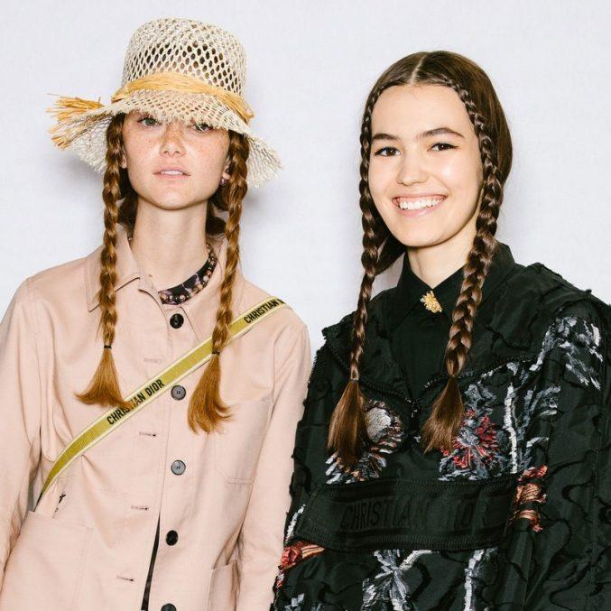 С мыслями о разумном потреблении: Питер Филипс создал минималистичный макияж для показа Dior