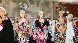 Цветы, растущие из волос моделей: все о безумных образах на показе Marni SS20