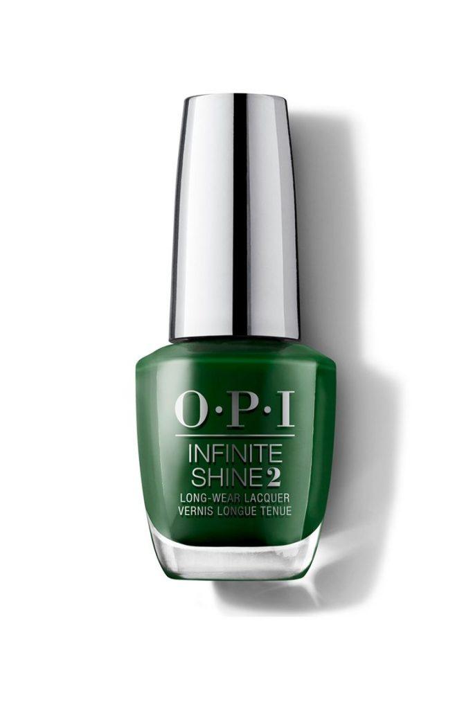OPI, зеленый лак