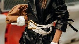 Выбор недели: ремень-подкова от Bottega Veneta